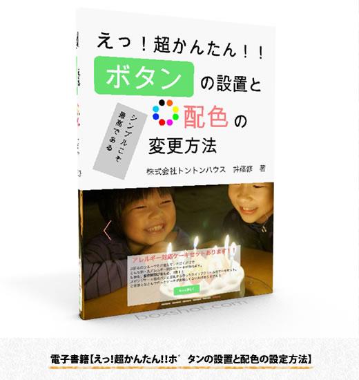 電子書籍【えっ!超かんたん!!ボタンの設置と配色の設定方法】